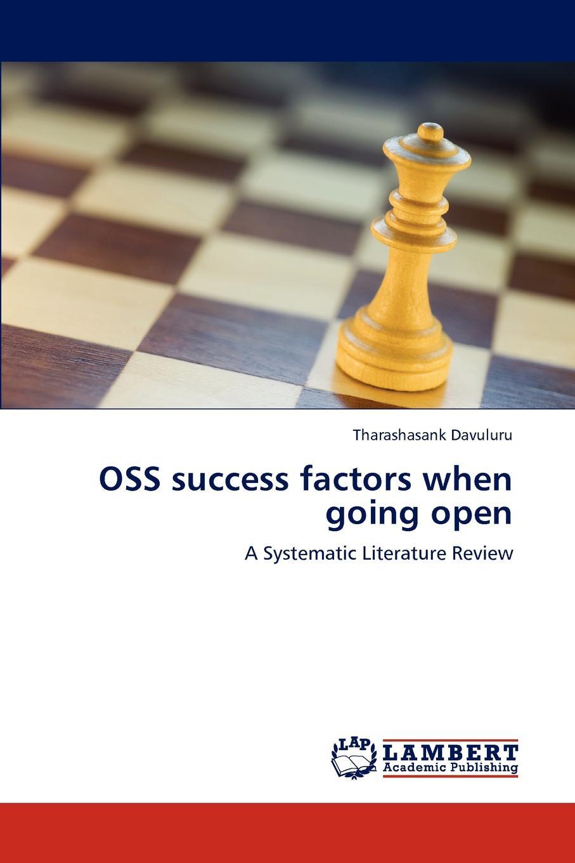 Tharashasank Davuluru OSS success factors when going open the success of open source