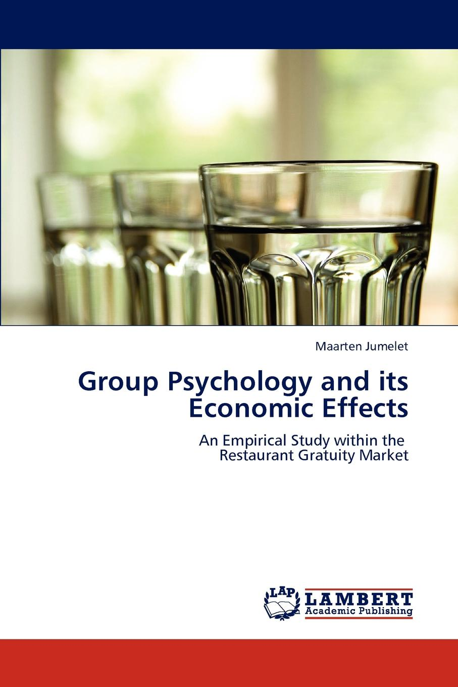 Maarten Jumelet Group Psychology and its Economic Effects study on behaviour of frp confined circular column