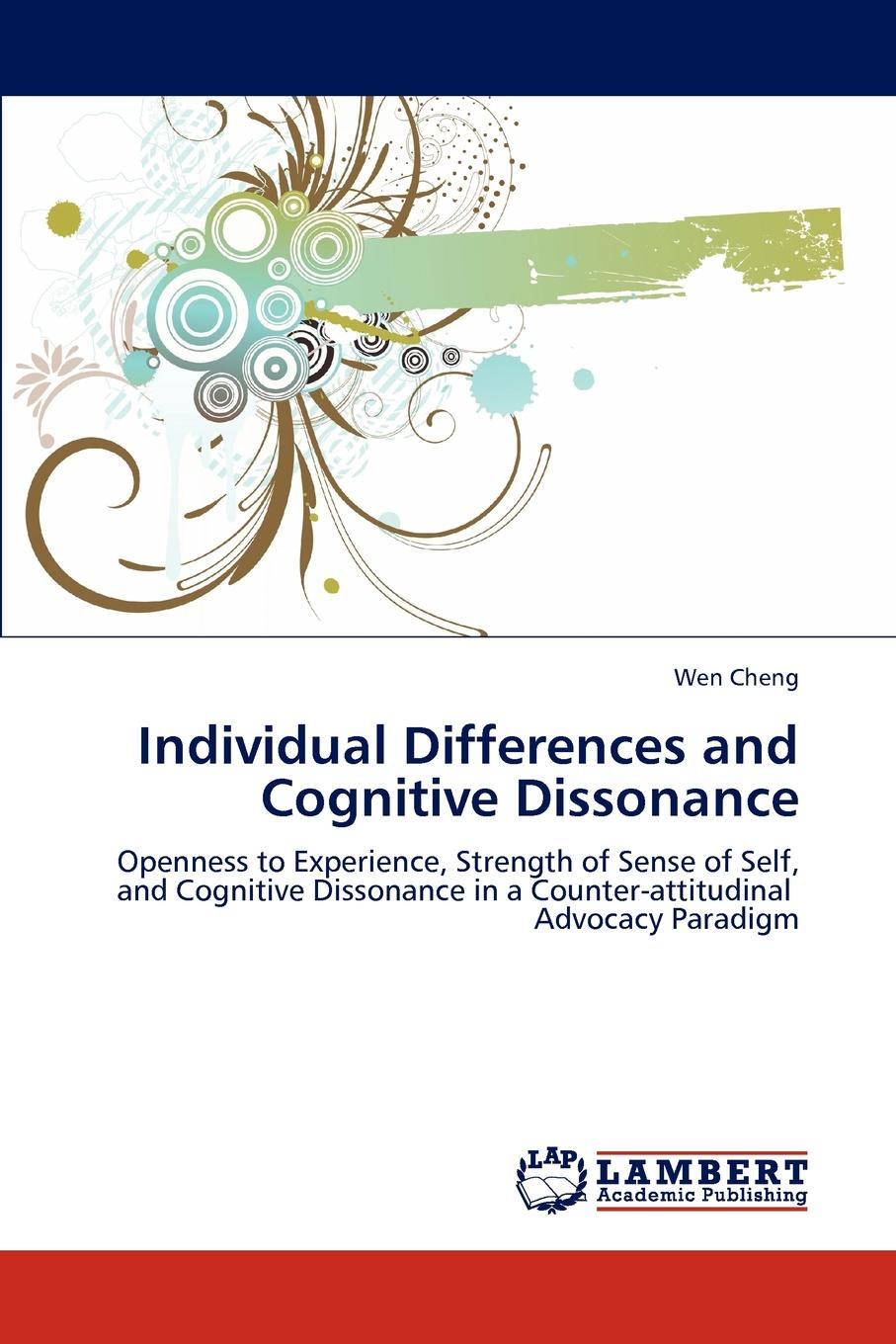 Wen Cheng Individual Differences and Cognitive Dissonance