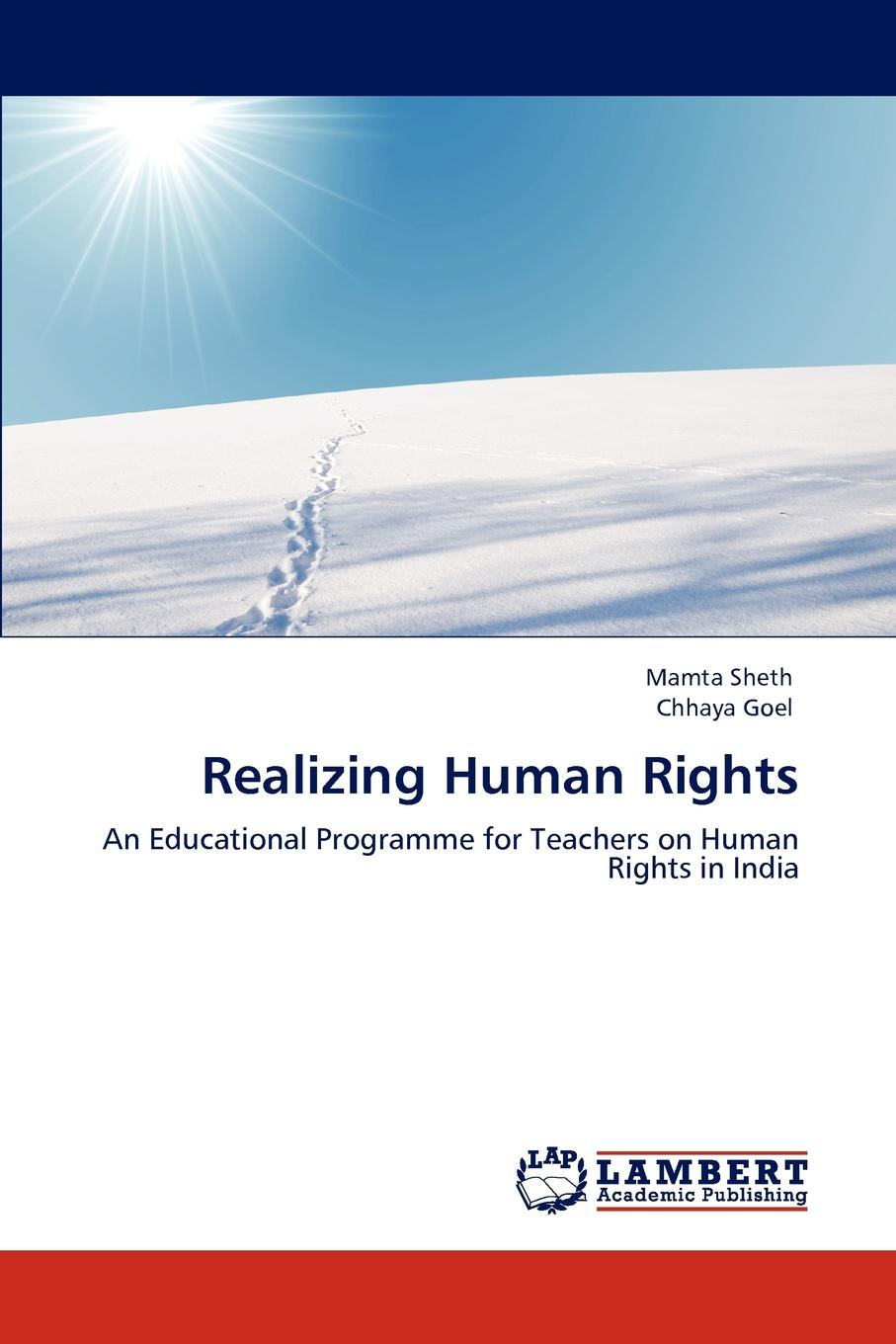 Mamta Sheth, Chhaya Goel Realizing Human Rights human rights and people with disability