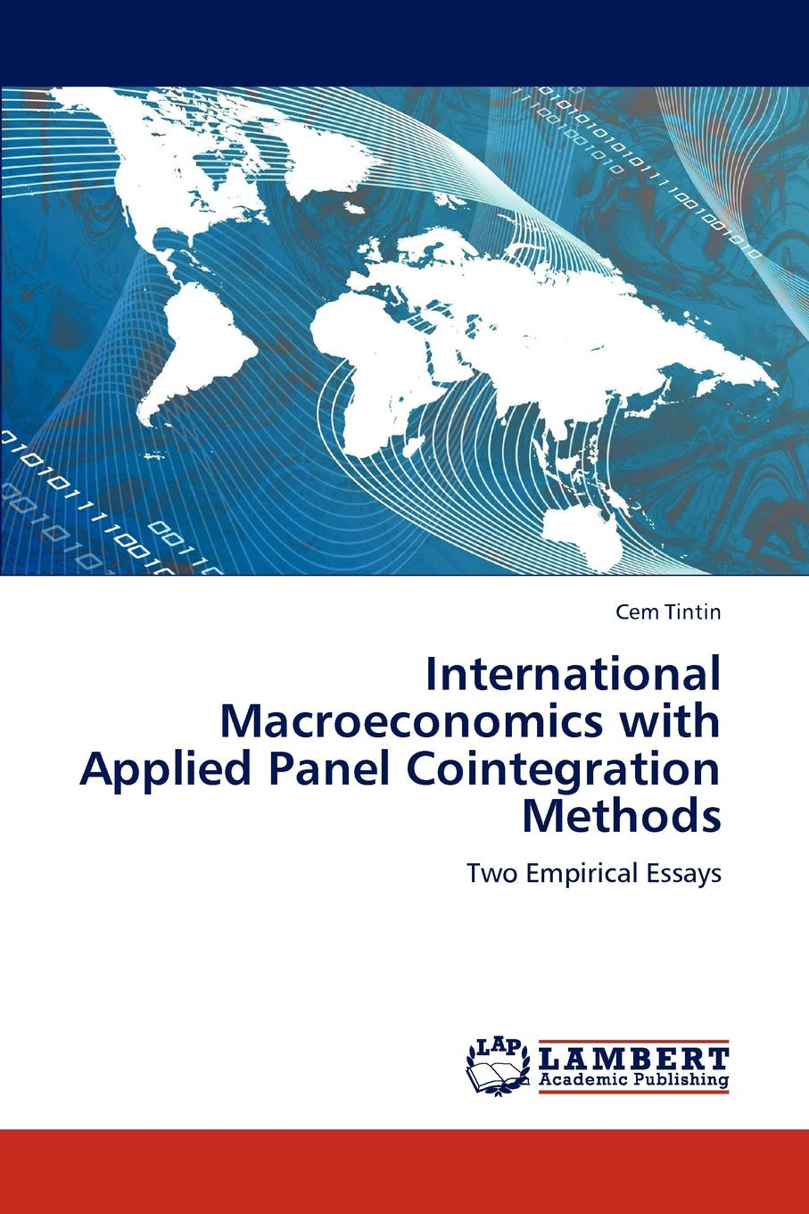 Cem Tintin International Macroeconomics with Applied Panel Cointegration Methods t omay energy consumption and economic growth evidence from nonlinear panel cointegration and causality tests