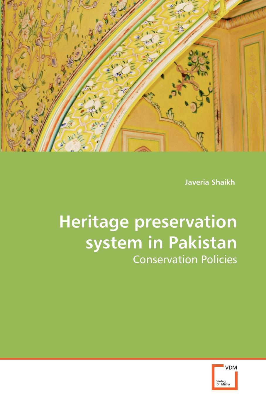 Javeria Shaikh Heritage preservation system in Pakistan недорго, оригинальная цена