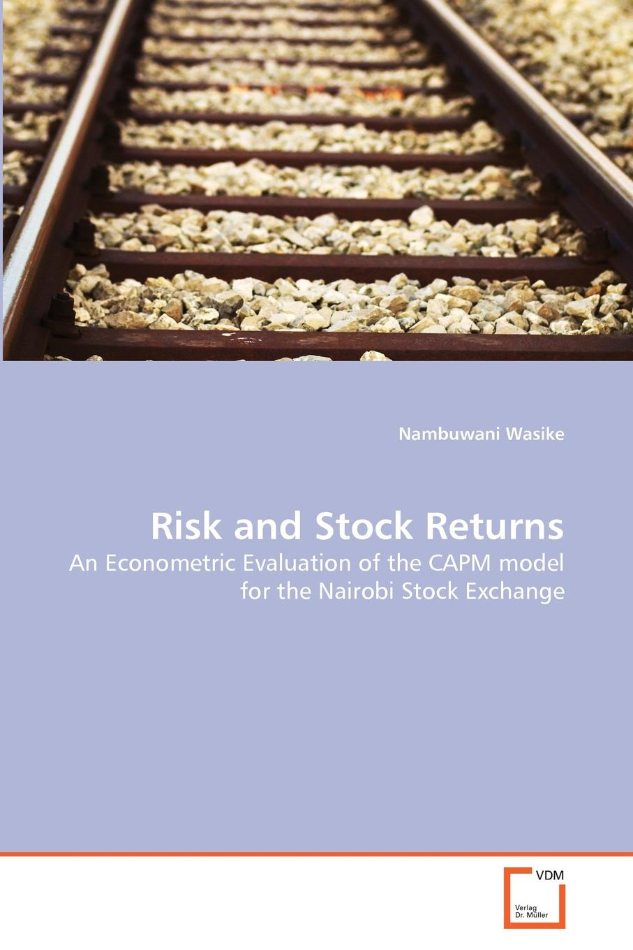 Nambuwani Wasike Risk and Stock Returns new in stock skb30 02a1
