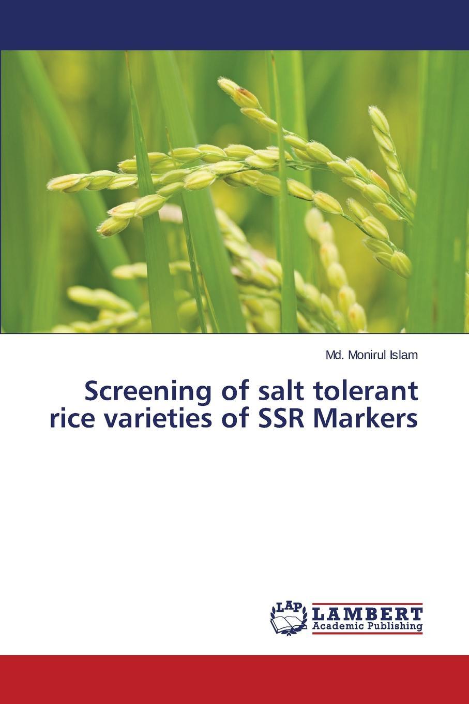 Islam Md. Monirul Screening of salt tolerant rice varieties of SSR Markers process variation tolerant vlsi designs