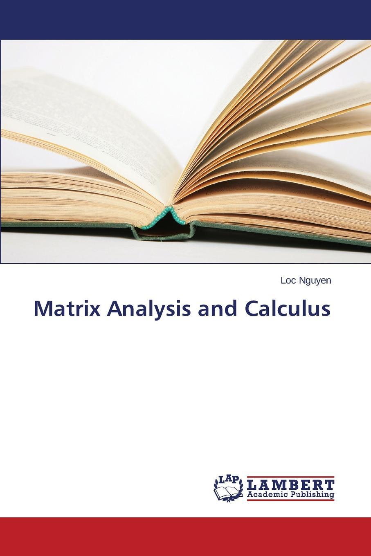 Nguyen Loc Matrix Analysis and Calculus g antille descriptive analysis of matrix valued time series