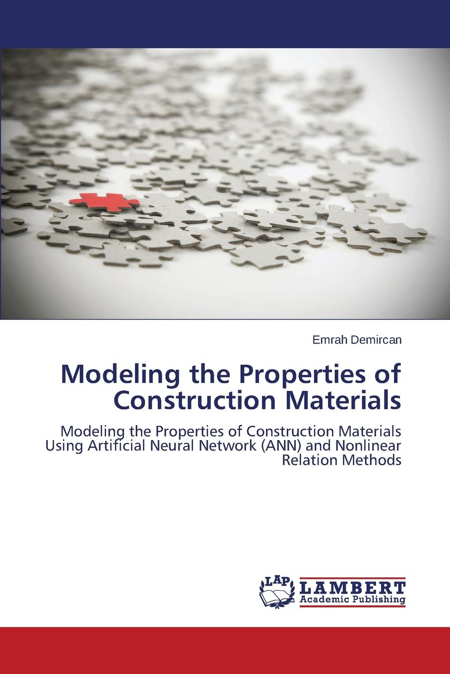 Demircan Emrah Modeling the Properties of Construction Materials цена 2017