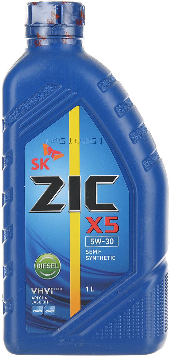 Моторное масло ZIC X5, синтетическое, 5W-30, 1 л цена