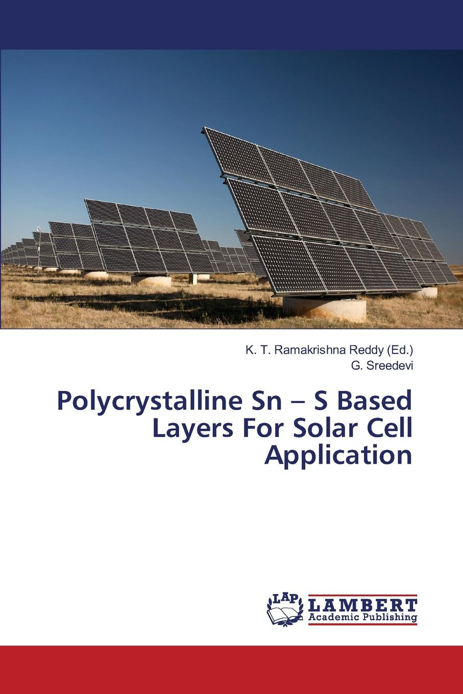 Sreedevi G. Polycrystalline Sn - S Based Layers For Solar Cell Application