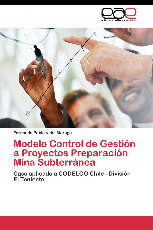 Vidal Moraga Fernando Pablo Modelo Control de Gestion a Proyectos Preparacion Mina Subterranea enrique rosales asensio importancia de la tasa de descuento en la gestion de proyectos energeticos