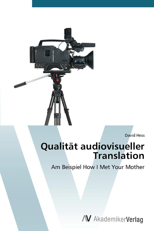 Hess David Qualitat audiovisueller Translation