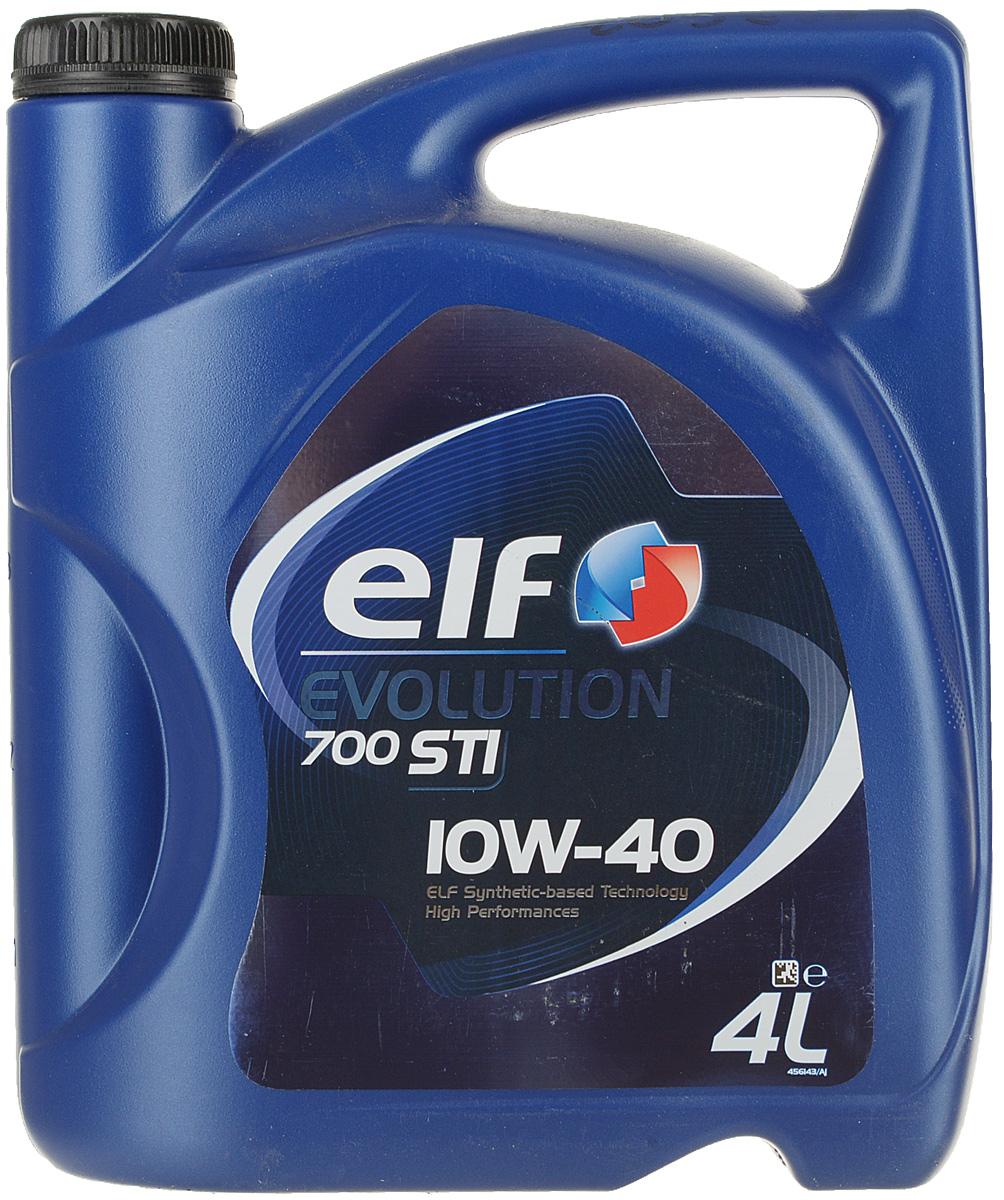 Моторное масло Elf Evolution 700 Sti 10W40 (Sn), синтетическое, 4 л