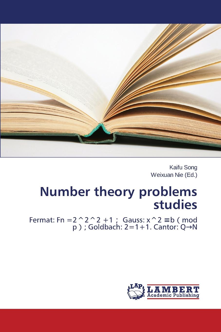 Song Kaifu Number theory problems studies david cox a primes of the form x2 ny2 fermat class field theory and complex multiplication