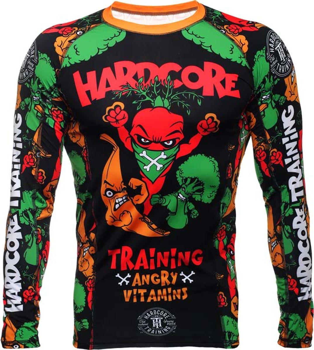 Фото - Рашгард Hardcore Training шорты мужские hardcore training angry vitamins цвет черный hctshorts057 размер 3xl 56