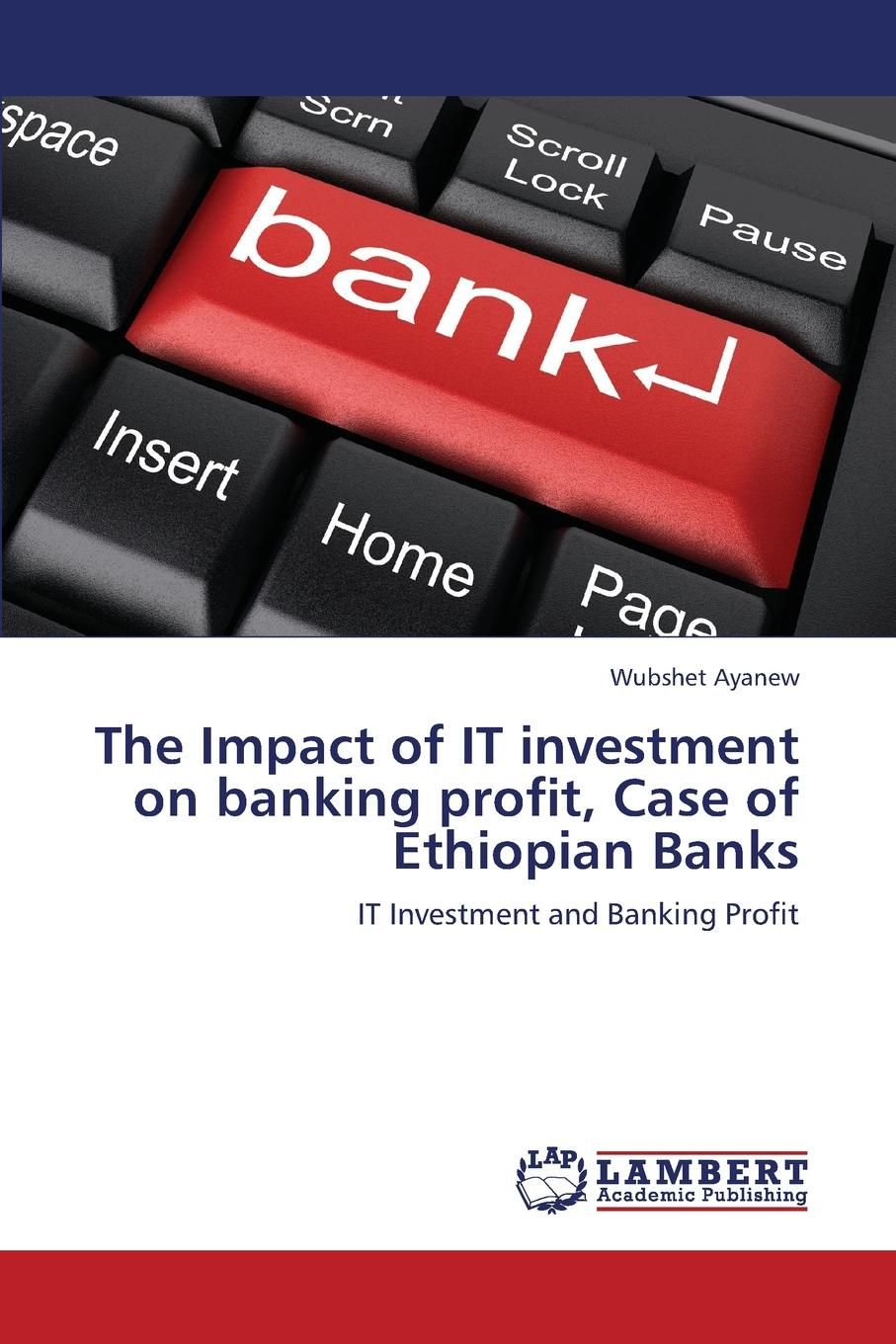 Ayanew Wubshet The Impact of It Investment on Banking Profit, Case of Ethiopian Banks joshua rosenbaum investment banking workbook