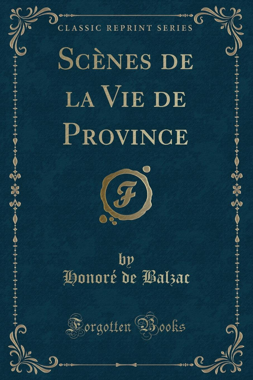 Honoré de Balzac Scenes de la Vie de Province (Classic Reprint) luminarc суповая brush mania red 20 см