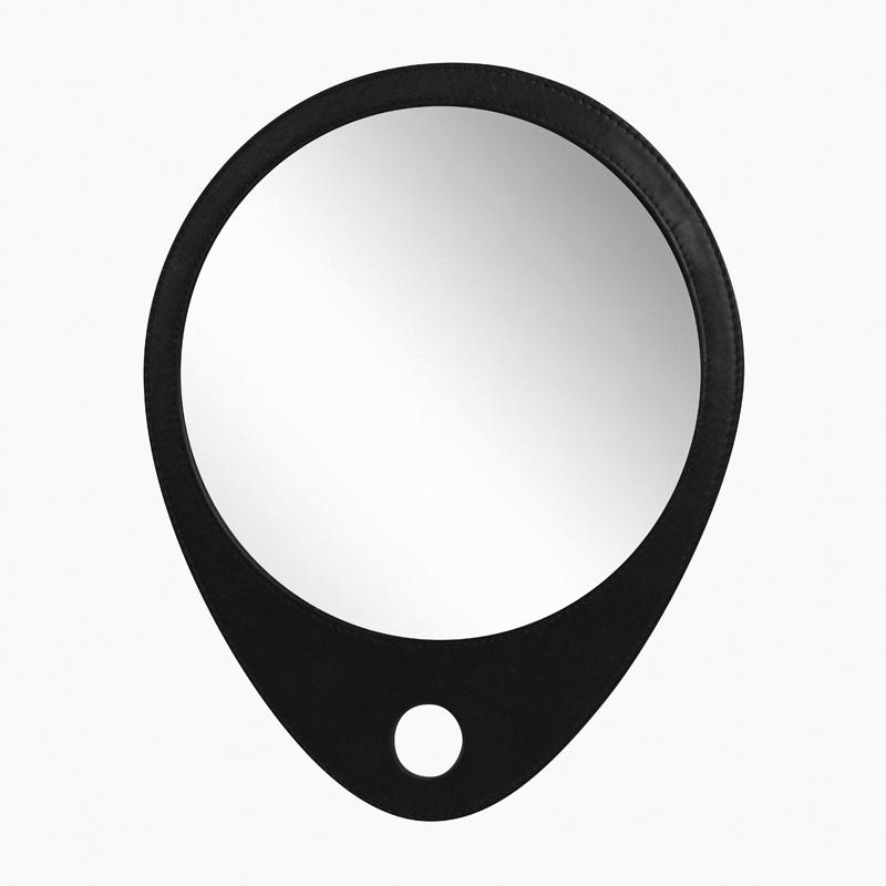 Зеркало косметическое DEWAL BARBER STYLE, черный недорого