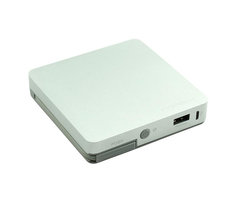 Фото - Внешний аккумулятор MIPOW Power Cube 8000 mAh, цвет серебристый аккумулятор