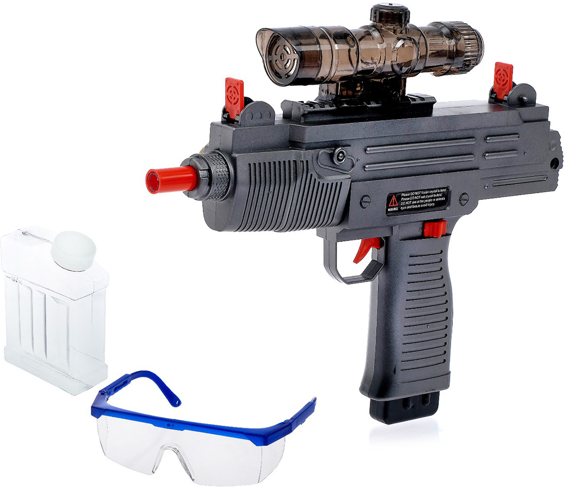 Игрушечное оружие Автомат Узи, 4005184 игрушечное оружие pixel crew автомат м16 8бит синий пиксельный 62 см