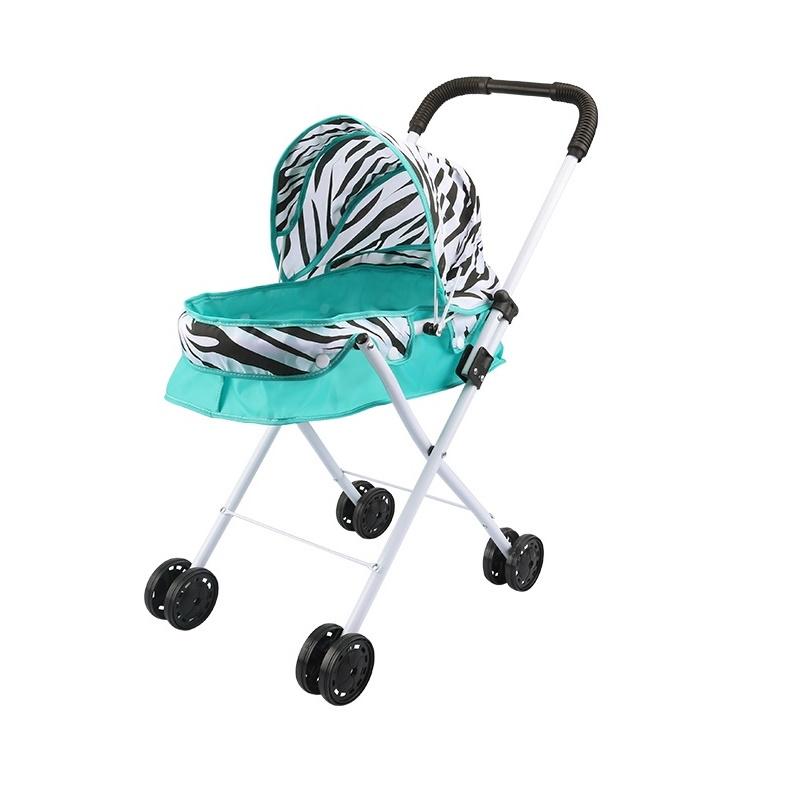 Транспорт для кукол S+S TOYS коляска металлическая бирюзовый цены