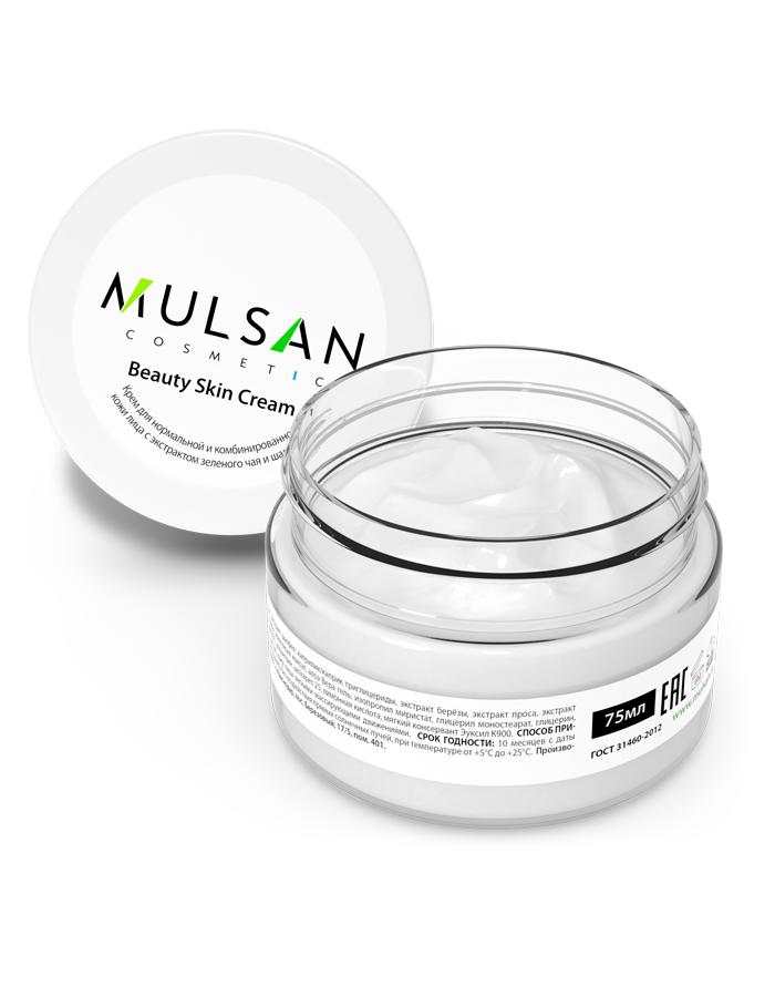 Крем для нормальной и комбинированной кожи лица Mulsan Mulsan