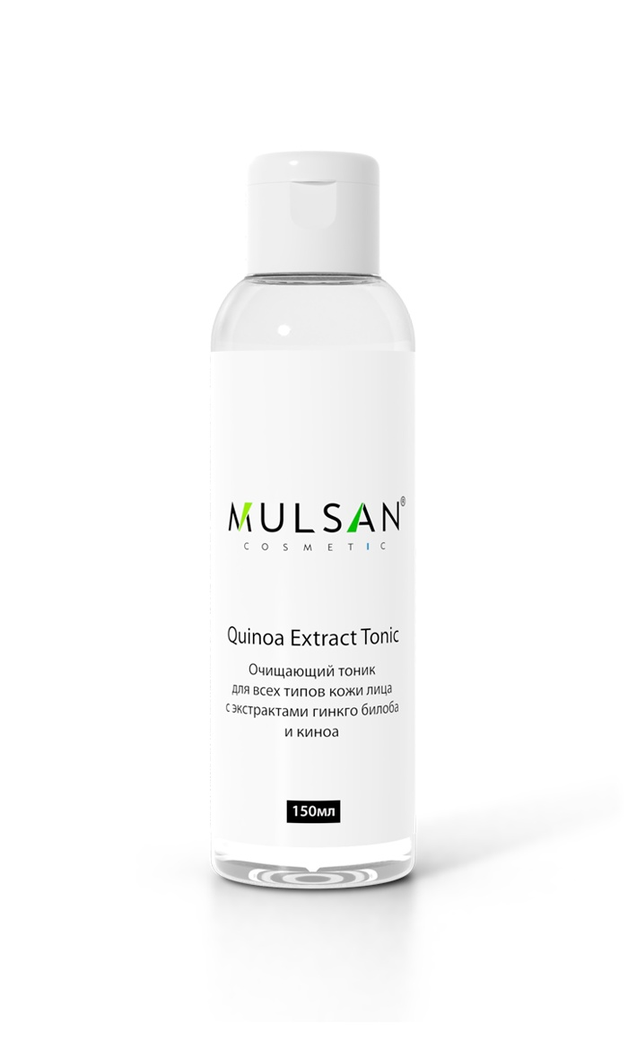 Очищающий тоник для всех типов кожи лица Mulsan