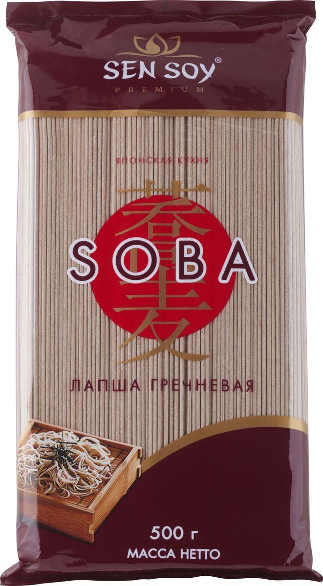 Лапша гречневая Sen Soy Soba, 500 г sen soy tempura японская панировочная мука 150 г