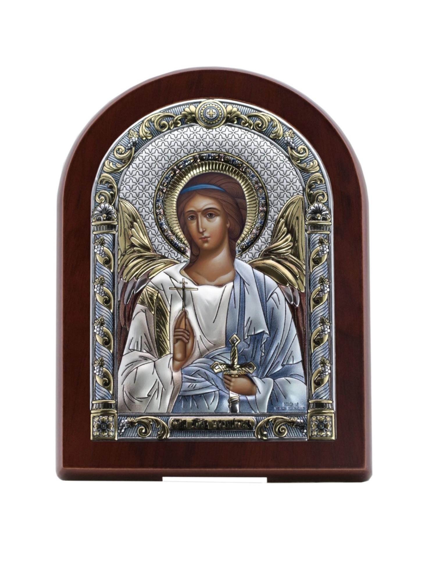 Фото - Икона АргентА Ангела Хранителя (15*20), серебристый иконы