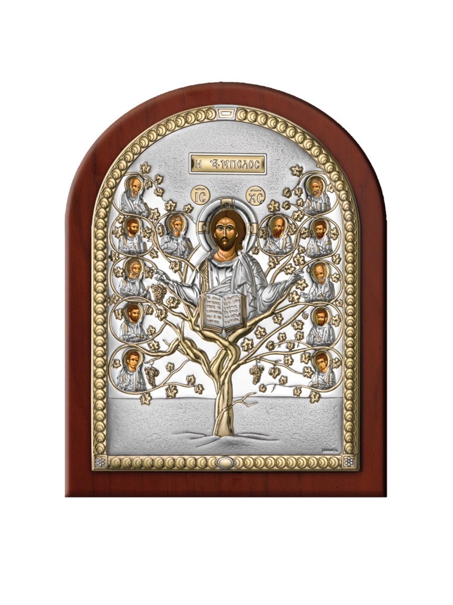 Икона АргентА Древо Жизни 12 х 16, серебристый иконы