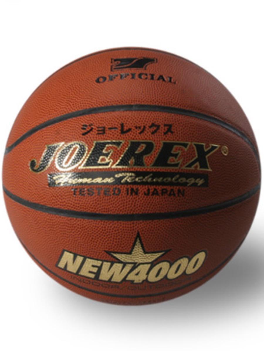 Мяч баскетбольный JOEREX NEW4000, коричнево-красный мяч баскетбольный atemi bb400 7