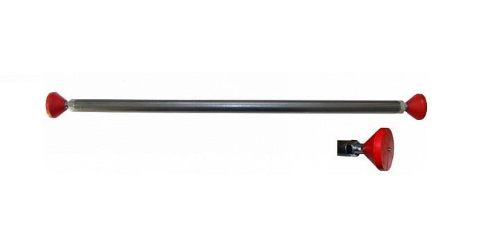 Турник Plastep 232055, темно-серый, красный цена
