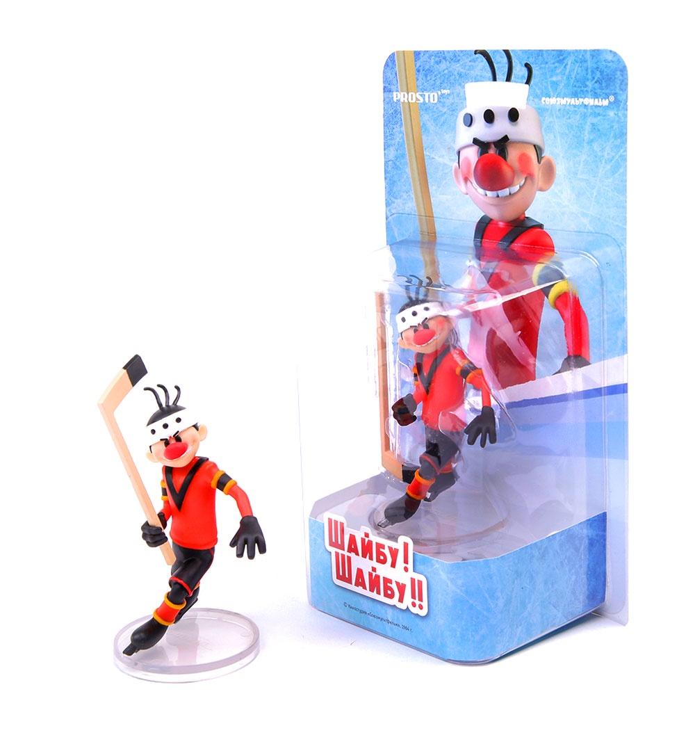 Фигурка Шайбу Шайбу Игрок 1 Метеор игрушка коллекционная игрушка с цукатами бархатные понечки