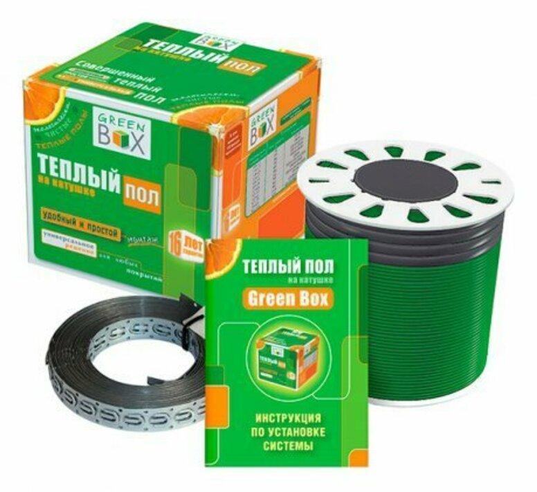 Теплый пол Green Box Кабель нагревательный GB 82,0 м/1000 Вт