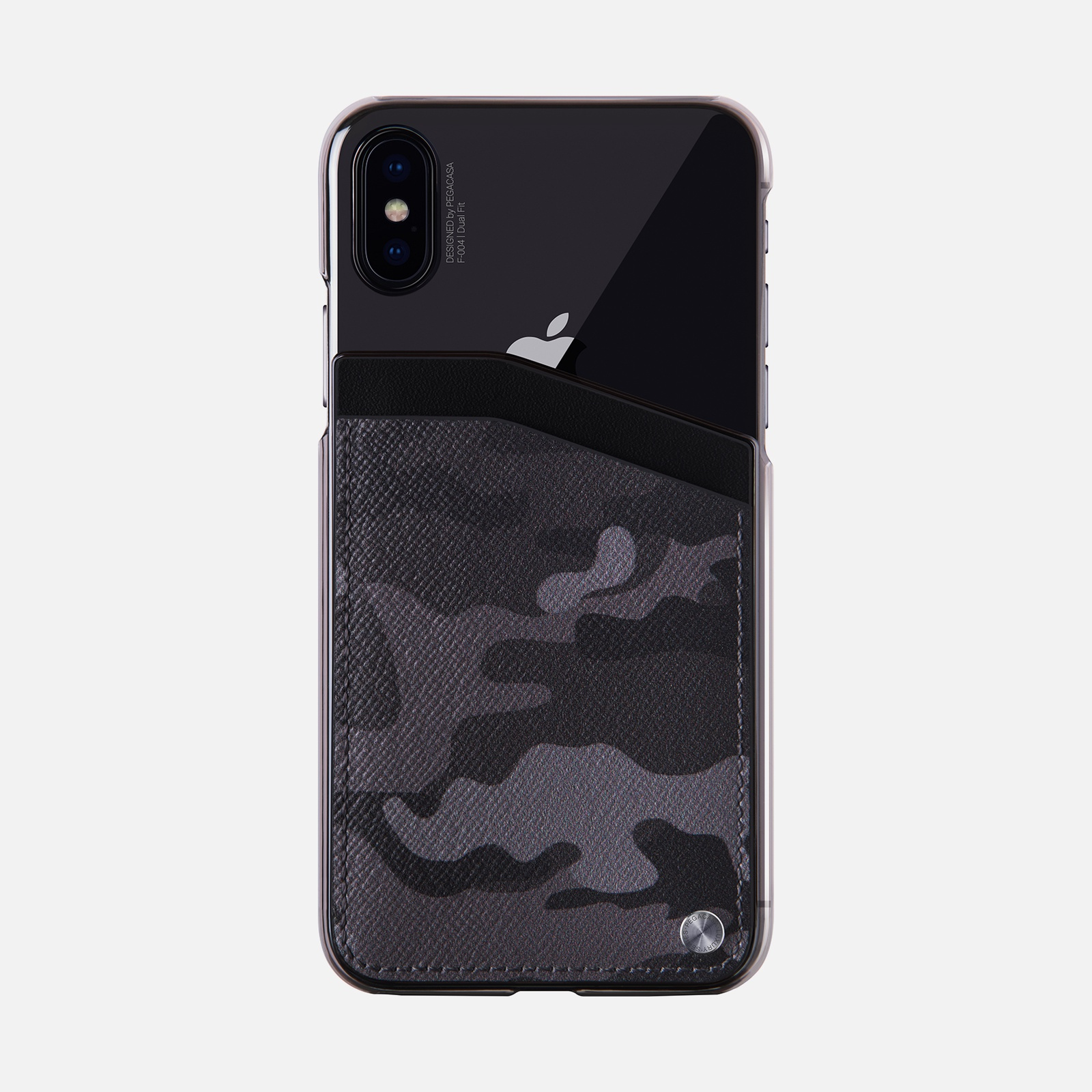 Чехол PEGACASA F-004 Dual Fit для iPhone XS/X, Камуфляж цена и фото