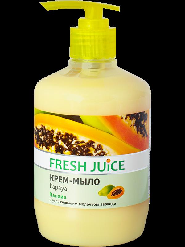 Жидкое мыло18601860ПапайяС увлажняющим молочком авокадоАроматное крем-мыло «Папайя» как нельзя лучше подходит для бережного очищения кожи. Содержит мягкие моющие компоненты, увлажняющее молочко авокадо и экстракт папайи.Изготовлено по специальной рецептуре, которая обеспечивает настолько нежный уход за кожей, что средством можно умываться. Крем-мыло легко смывается водой и подходит для ежедневного применения.