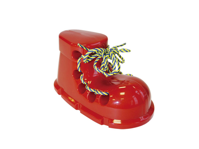 Шнуровка Пластмастер 14501 красный