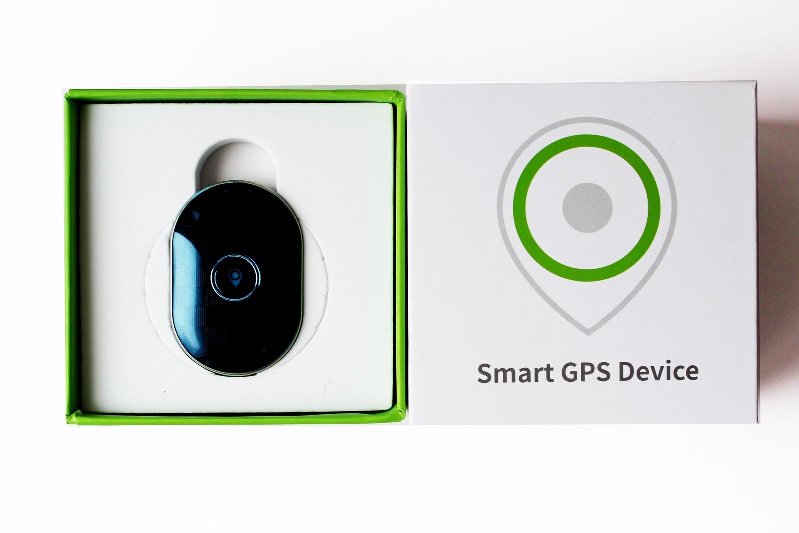 GPS-трекер ТОТЕМ GPS трекер Q-60/3819 для животных в виде ошейника/автомобилей, синий