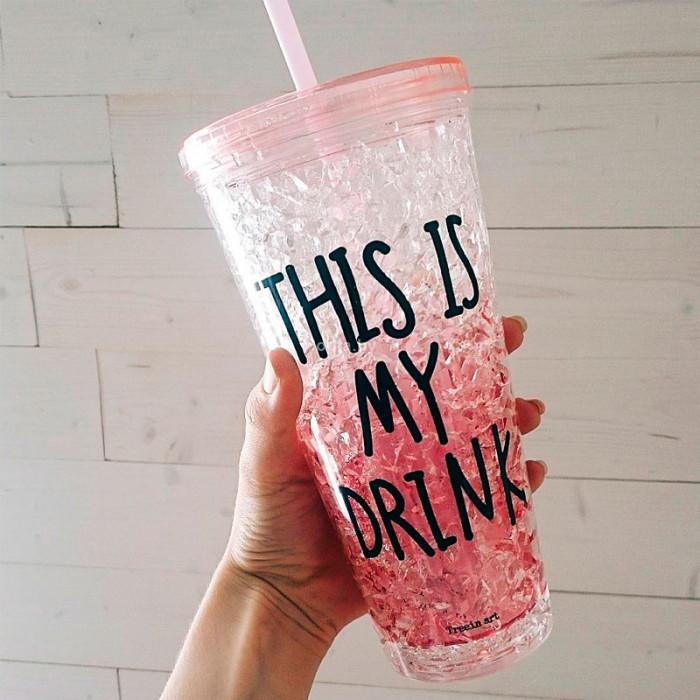 Термокружка для прохладных напитков Today Is a Fruit Day 500 мл, Пищевой пластик