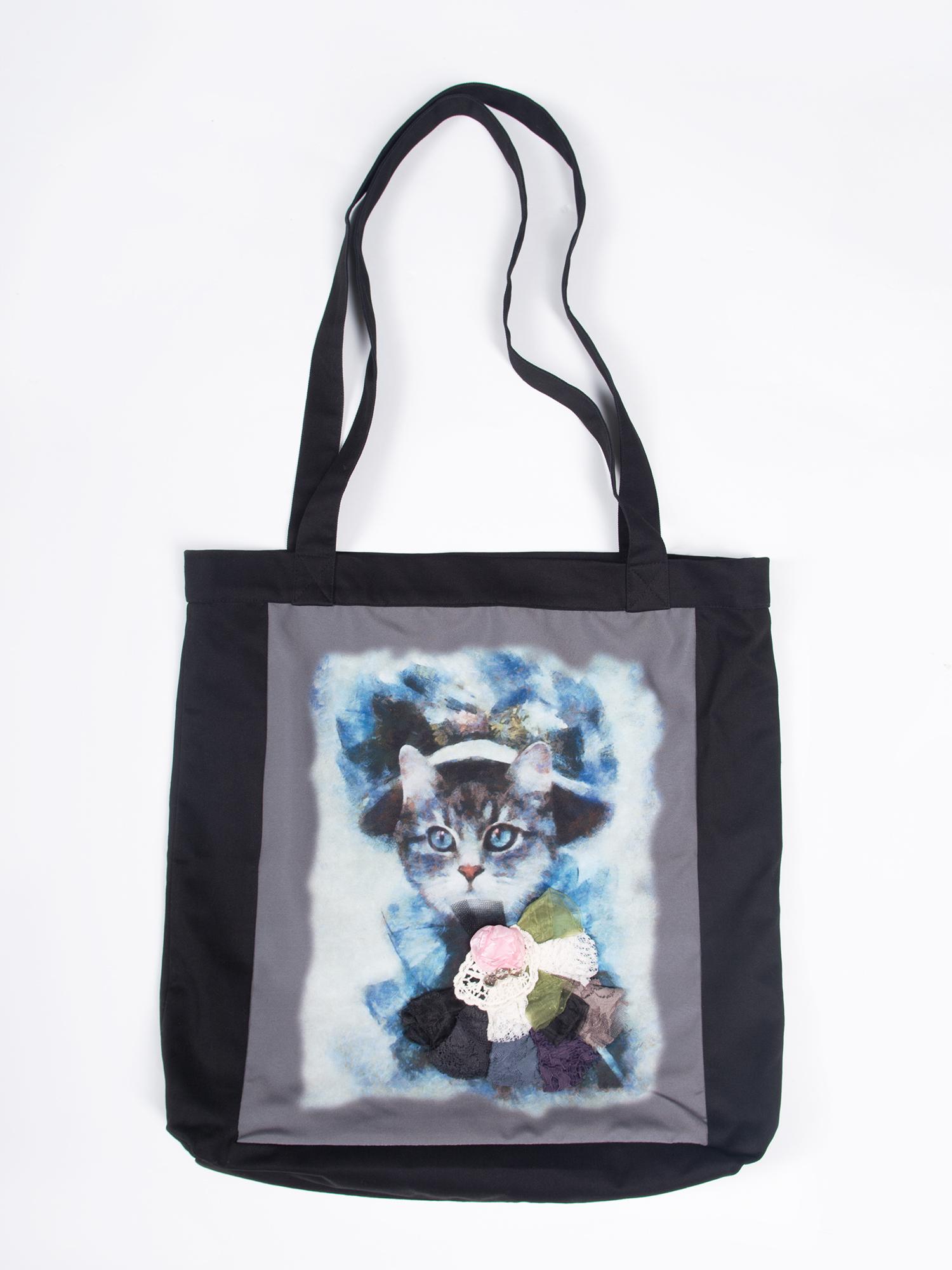 купить Шоппер Lisa Boho BAG 190142 черный,голубой по цене 3400 рублей