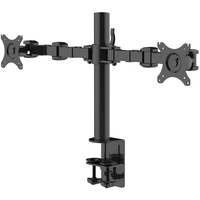 """ONKRON настольный кронштейн для двух мониторов 10""""-32"""", черный D221E"""