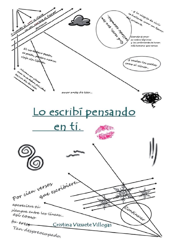 Cristina Villegas Vizuete Lo escribi pensando en ti цена и фото