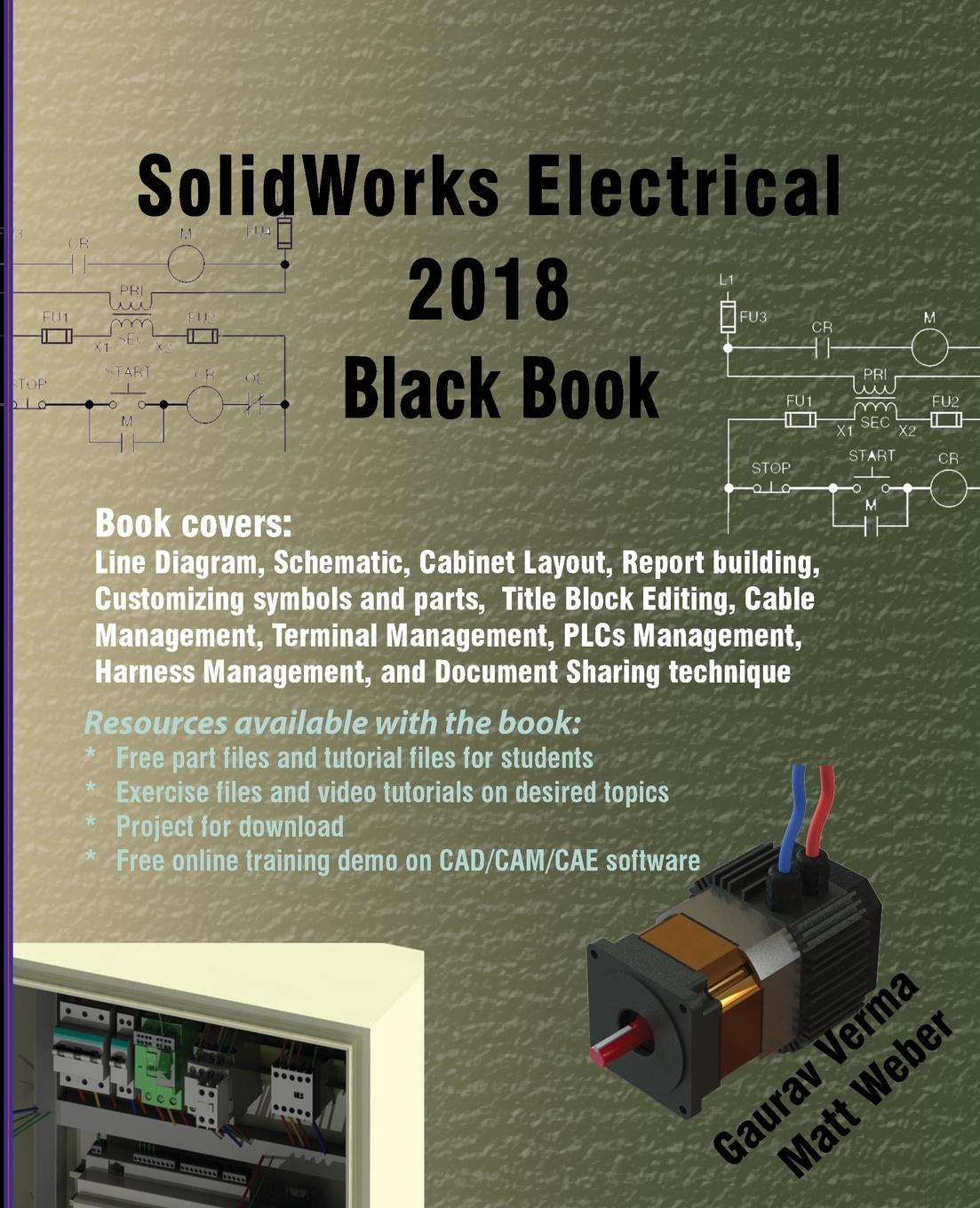 Gaurav Verma, Matt Weber Solidworks Electrical 2018 Black Book high quality can wireless remote touch wall switch uk standard 2 gang 1 way control light switches switches electrical china