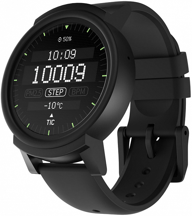 Умные часы TicWatch E (черный) Ticwatch