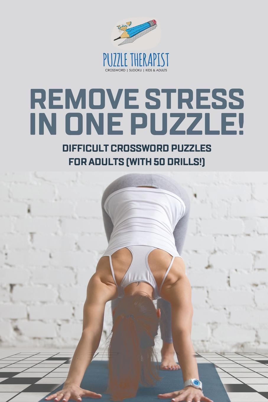 Puzzle Therapist Remove Stress in One Puzzle. Difficult Crossword Puzzles for Adults (with 50 drills.) sahoo bike bicycle helmet buy one get two free with a pair of gloves