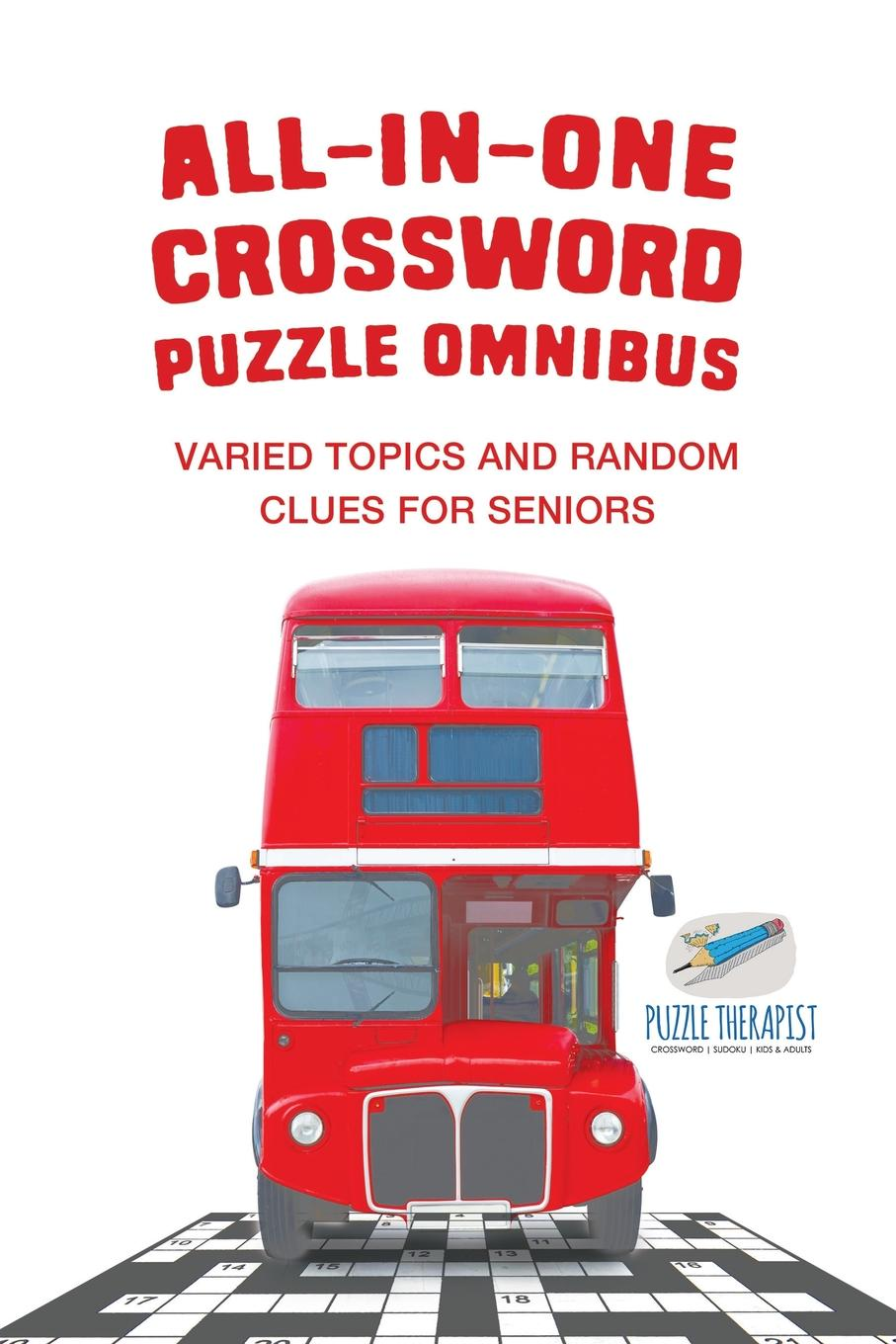 Puzzle Therapist All-in-One Crossword Puzzle Omnibus . Varied Topics and Random Clues for Seniors barrow tzs1 a02 yklzs1 t01 g1 4 white black silver gold acrylic water cooling plug coins can be used to twist the