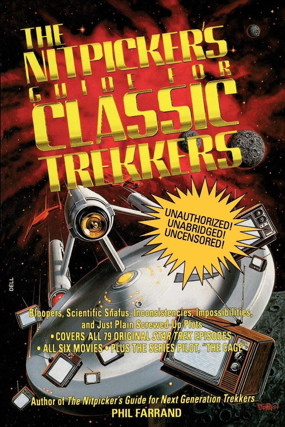 Phil Farrand The Nitpicker.s Guide for Classic Trekkers недорого
