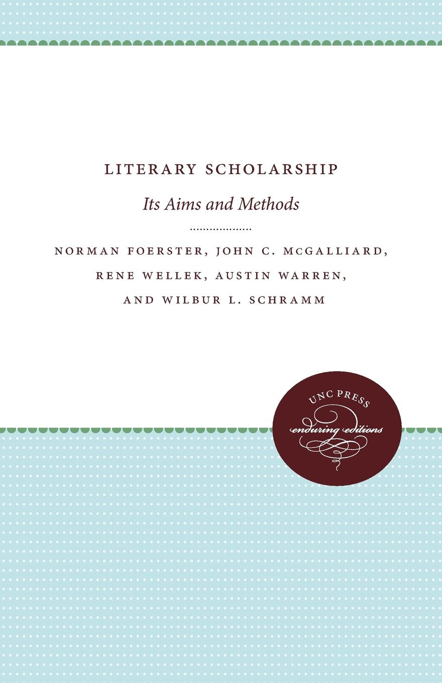 Norman Foerster Literary Scholarship. Its Aims and Methods bakhtin the formal method in literary scholarship