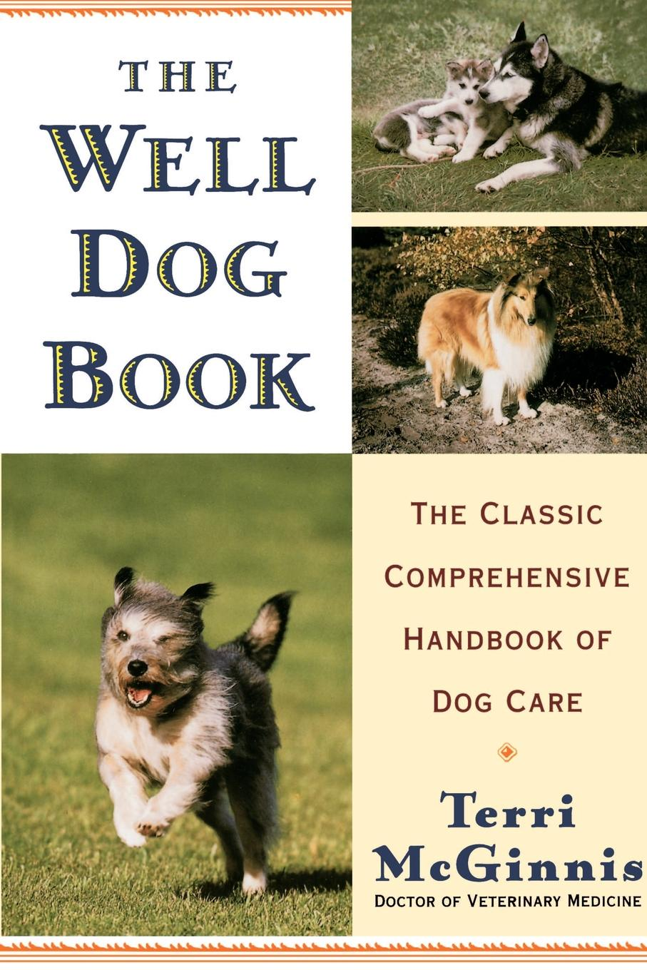 Terri McGinnis The Well Dog Book. The Classic Comprehensive Handbook of Dog Care quality double head dog cat pet stainless steel trimmer comb