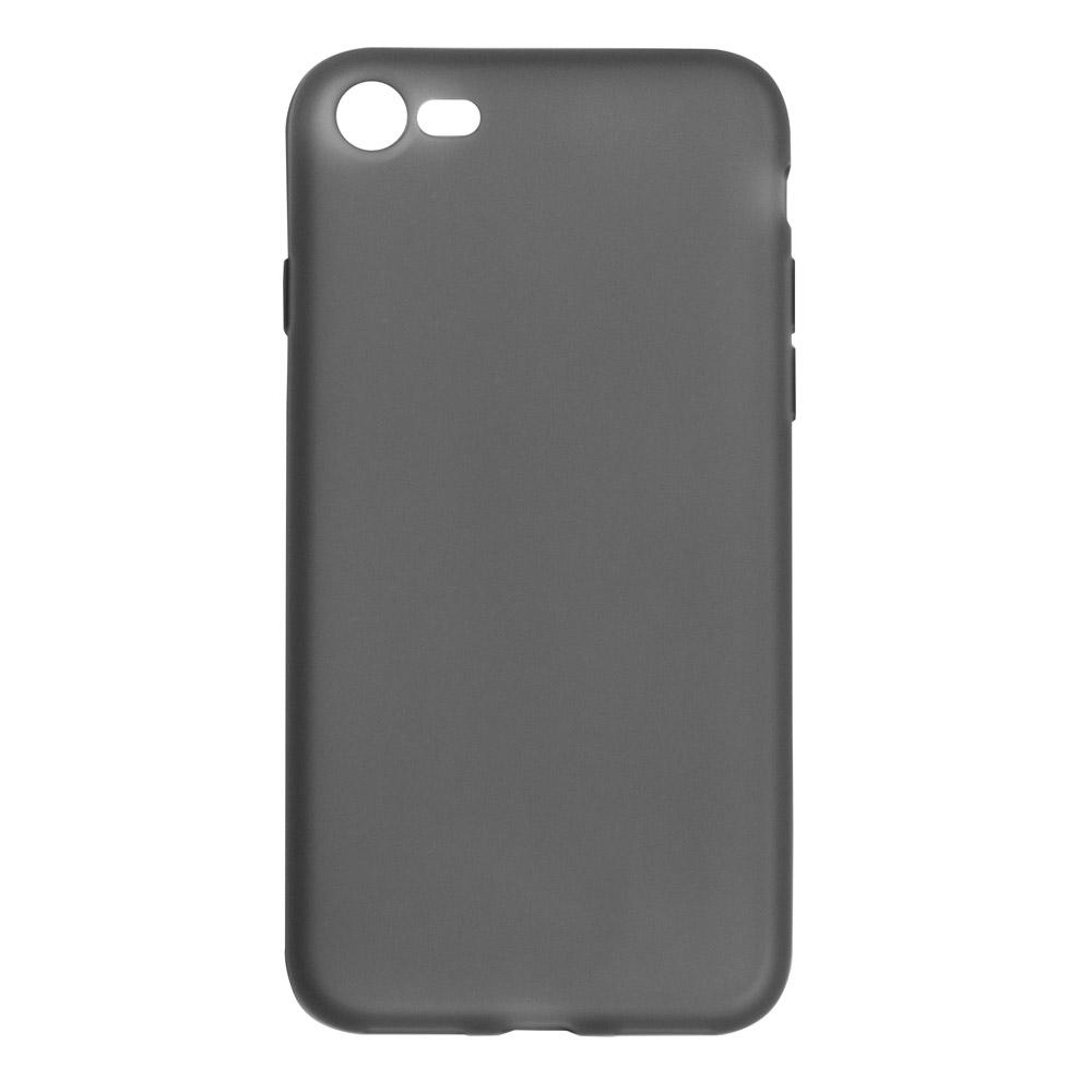 Чехол для сотового телефона ONZO MATT iPhone 7/8, прозрачный, черный недорого