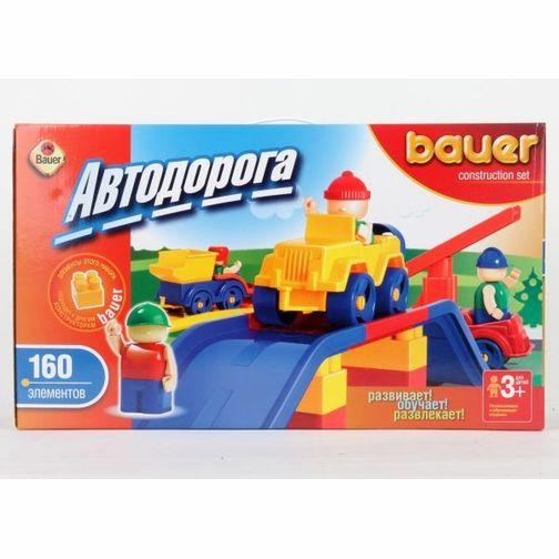 Пластиковый конструктор Bauer 31359 конструктор игровой bauer автодорога