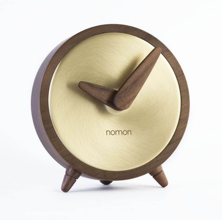 Настольные часы Nomon Atomo Gold, золотой